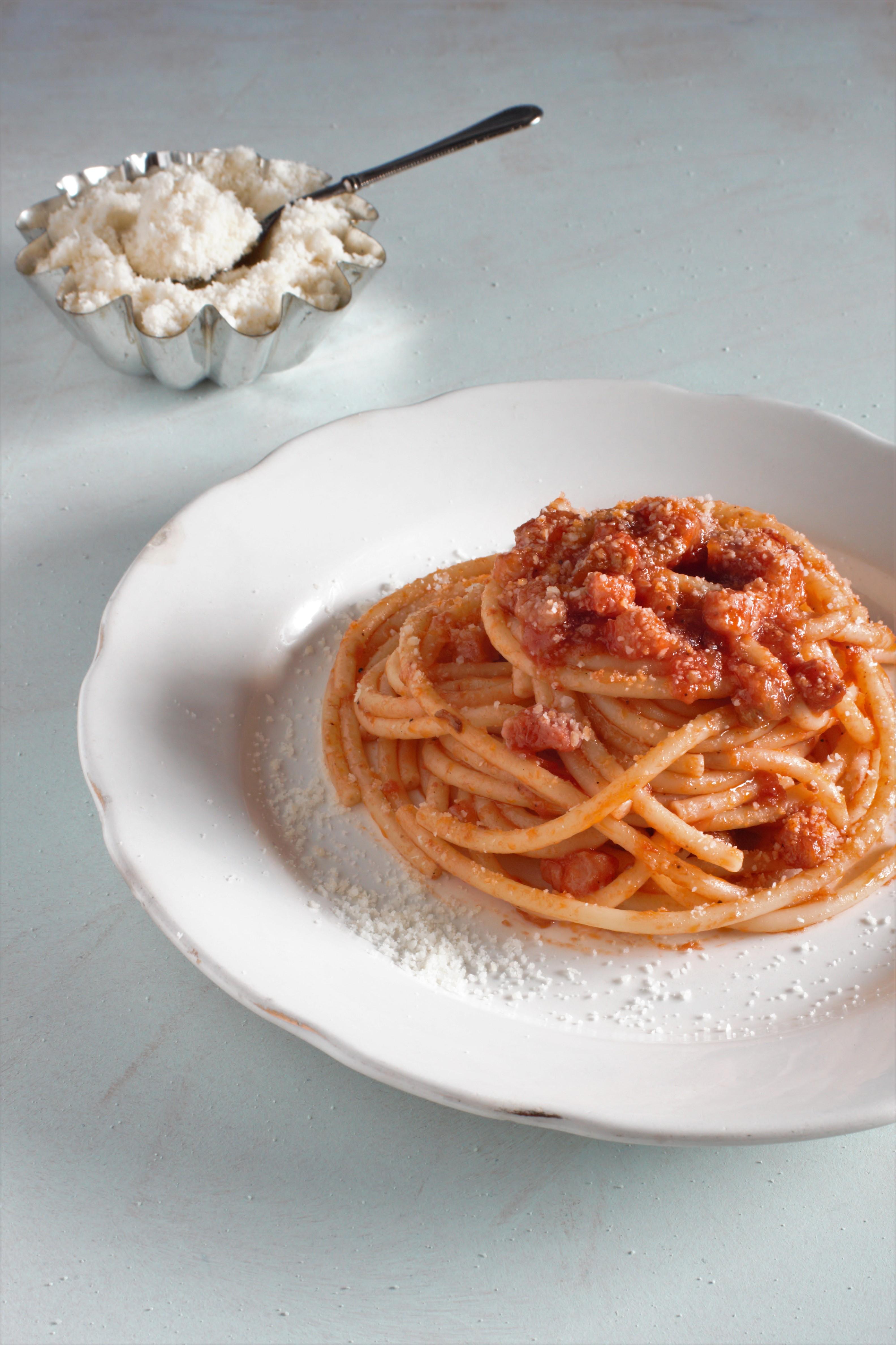 Wwwricetta Amatriciana.Spaghetti All Amatriciana Ricetta